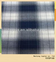 40S 106X96 100%cotton yarn dyed checks fabric / men's shirting fabric /herringbone cotton fabric