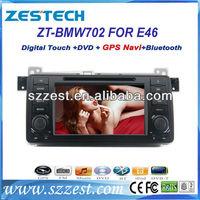 ZESTECH Car Radio Stereo GPS auto parts A8 chip for bmw e46