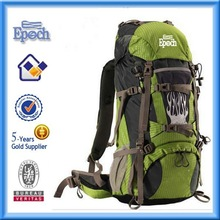 2015 Top quality hiking backpack custom backpack for mountain climbing