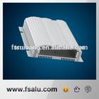 CNC machined aluminum amplifier case