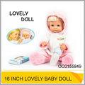 precioso 16 pulgadas para bebés reborn muñecas de secreción nasal narices de juguete muñeca oc0155849