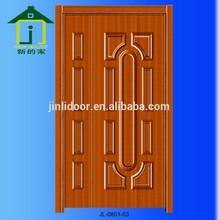 4mm Melamine moulded mdf skin door