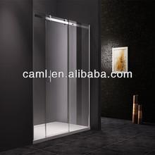 CAML 2014 Hotselling shower screen straight shape sliding shower screen screen sliding glass door
