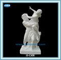 famosas esculturas romanas homem nu e escultura de mulher