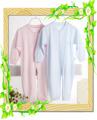 Großhandel 30% bambusfaser 70% baumwolle ebene einfarbigen babyspielanzug/blank baby bodys setzt/langarm baby-kleidung/Kleidung