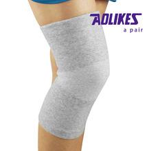 Elastic leg support sports knee brace pads