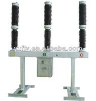 LW36A-145 145kV 132kV High voltage 3 pole Outdoor pole mounted SF6 Circuit Breaker