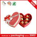 2014 en forme de cœur boîte de chocolat en gros fabricant, fournisseur