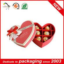 2014 heart shape chocolate box wholesale manufacturer,supplier