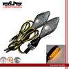 BJ-SL-024 Universal yellow Led Aluminum Housing Motorcycle Turn Signals Lights Cruiser and chopper : XVS950 / XV1900 / XVS1300 /