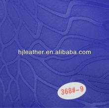2014 100% gravado couro sintético para selimdebicicleta/tampa do assento e móveis