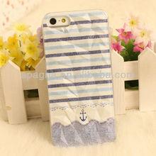 Fashion Blue Stripe Concave-convex Mobile Phone Cases G29L-5B