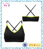 brand name sportswear wholesale padded sports bras for women