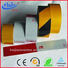 PVC warning reflecting tape