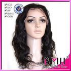 Human hair curly premium hair lace wigs for white people