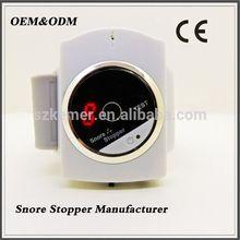 Uniquely designed Wrist biosensor automatically Cessation bracelet snore stopper