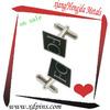 1.5-2.5cm Diameter Customized Baking Finish Metal Cuff Links