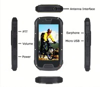2014 new waterproof floating mobile phone s09 ip68 rugged p S09 NFC PTT Walkie Talkie android rugged smartphone IP68