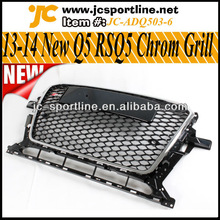 13-14 RSQ5 ABS Grill ,Honeycome Mesh Grille ,A5 Front Car Grills For Audi