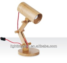 Study Writing Touch Wood Table Lamps Desk Lights