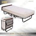 Suave h-003 minimalis hotel sofá cum rollaway cama/plegable de la primavera de colchón de la cama