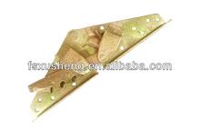 iron adjustable sofa bed mechanism/sofa bed click clack hinge