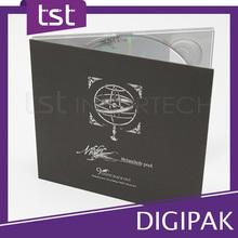 Offer High Quality Packaging CD Digipak
