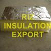 Glass Wool Board Aluminium Foil Roof Heat Insulation Material