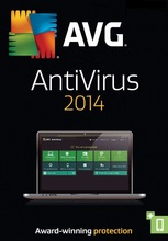 AVG Internet Security Antivirus - 2014 - 3 Years-35 PC - 35 users License Key- Free Shipping