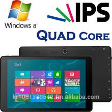 Windows Tablet PC, Intel Quad Core Z3735D, IPS, OGS, 32GB+2GB, High Quality, Slim Tablet