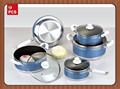 Alluminio non- bastone rena ware con rivestimento in ceramica