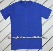 china supplierWholesale Fashion Plain Blue T Shirts 100%Cotton /polyester Customize For Men Made In China