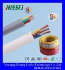 BVR H05VV-F multi cores CCA & Copper Conductor PVC Insulation building Cable power button flex cable for lg e730