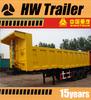 High Payload 3 Axles Rear Dumper/End Dumper Semi Truck Trailer