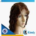 venda quente qualidade 5a não transformados cabelo humano da peruca do traje