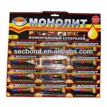 3g tube packing super adhesive glue
