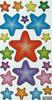 Sunscreen Adhesive Cartoon Paper Shinny Colorful Star Sticker