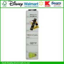 promotional dry eraser glass magnetic memo board