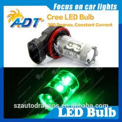 Hiway auto led light 50watt 850lumen used cars for fog light turn signal light