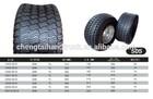 """Tyre for Ride On Mower 18"""" x 8.50 - 8 golf cart go kart R-12- 730"""