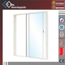 Aluminum frame tempered glass balcony window sliding window