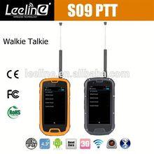 S09 NFC PTT waterproof windows phone at&t,waterproof Smartphone android IP68 Waterproof Dustproof Shockproof