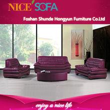Living room contemporary sofa set designs purple sectional sofa A638
