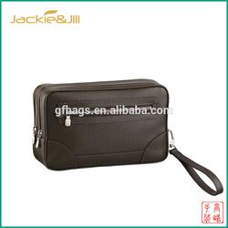 GF-X158 Men leather cosmet makeup kit and bag