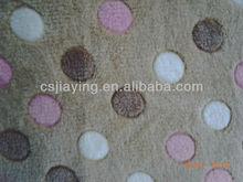 3D printing coral fleece fabric