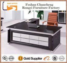 2014 new design best price black modern top executive desk