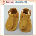 venta al por mayor nueva llegada de suela suave baby andador frist paso sandalias de niño