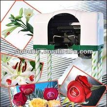 hot sale digital lily rose flower printing machine