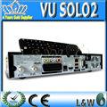 Vu solo2 vu solo 2 vu+ solo 2 1300 mhz duplo sintonizador receptor de satélite hd nuvemibox de mercado com a novaimagem blackhole decodificador