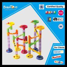 2014 kid plastic run educational marble toys